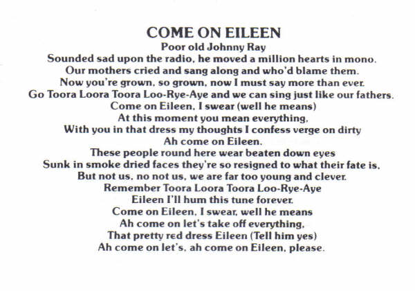 Songbook/Come-On-Eileen.jpg